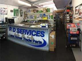RD Services 4x4 - Land Rover Specialist N Ireland